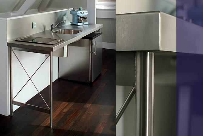 Rvs Keuken Horeca : Model: Keukenblok