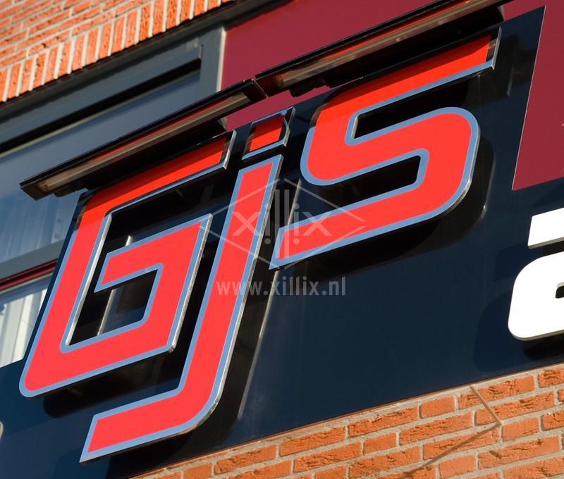 lasergesneden logo van gepolijst rvs
