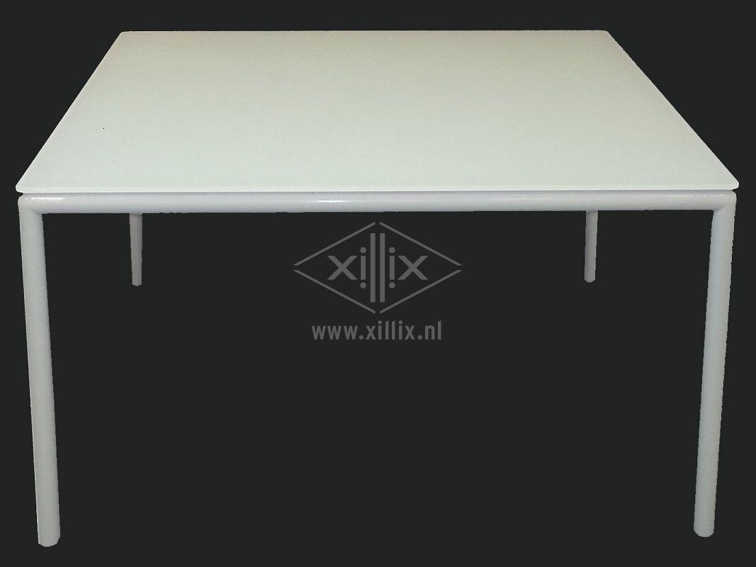 Eetkamertafel Vierkant Wit : Woonkamer tafel wit magazines vierkant in top collecties van