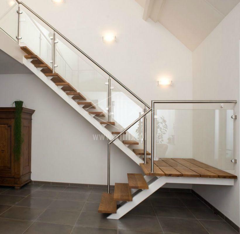 Xillix roestvrijstaal xillix moderne stalen design trappen - Binnen trap ...