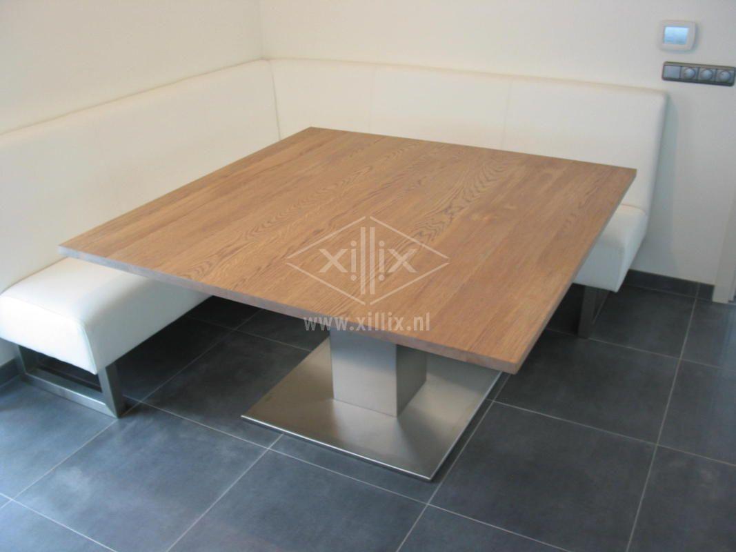 Xillix roestvrijstaal design tafel op maat - Tafel design keuken ...