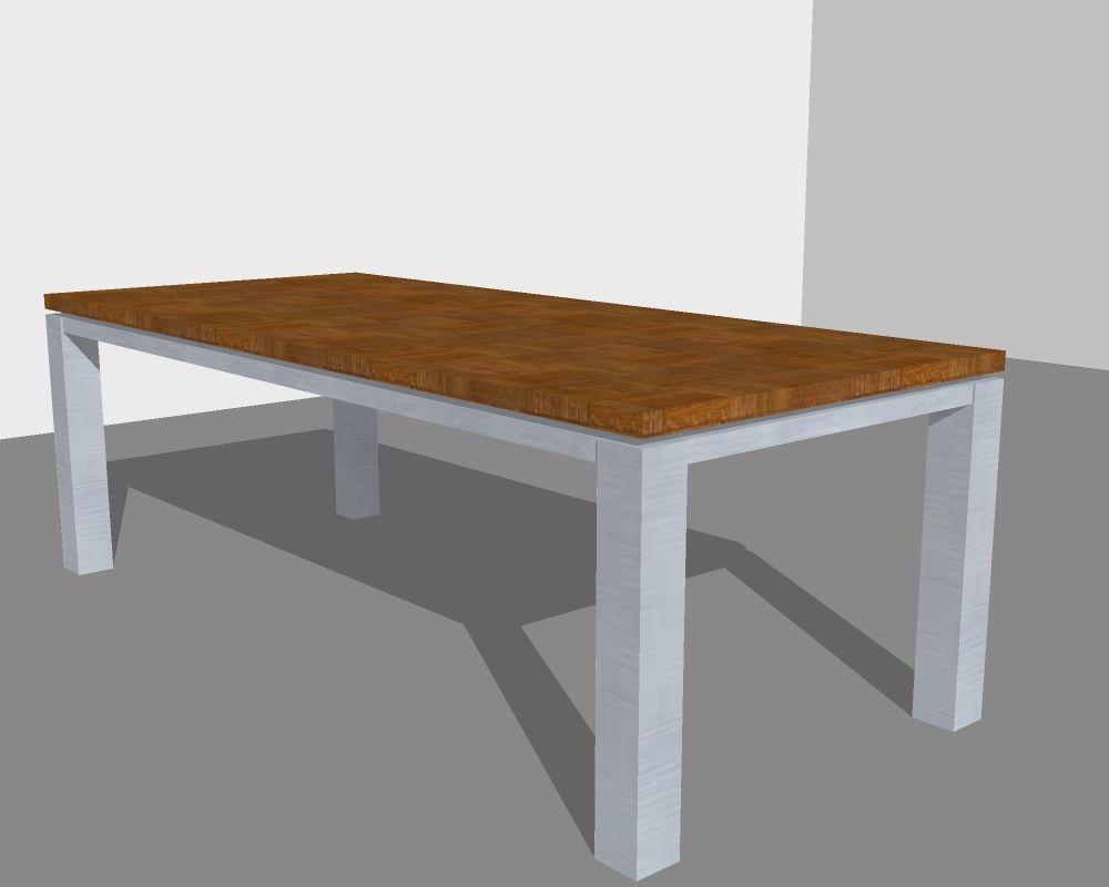 Xillix roestvrijstaal xillix blauw stalen tafels overzicht for Tafels overzicht